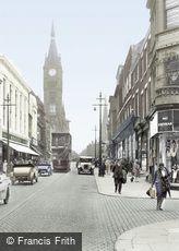 Preston, Fishergate 1929
