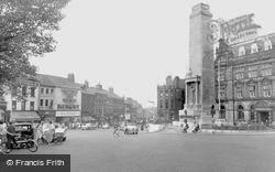 Friargate And The War Memorial c.1960, Preston