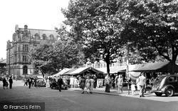 Market Place c.1955, Preston
