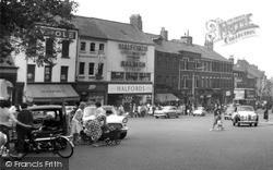 Shops In Friargate c.1960, Preston