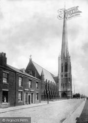 St Walburge's Church 1897, Preston