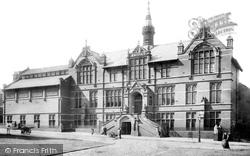 Technical School 1903, Preston