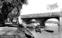 The Bridge Over The Ribble 1903, Preston