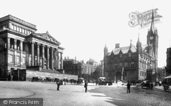 The Town Hall, Art Gallery And Library 1903, Preston