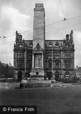 Preston, the War Memorial 1926