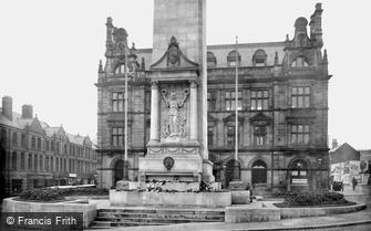 Preston, War Memorial 1926