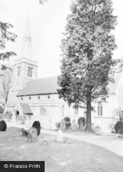 Princes Risborough, St Mary's Church c.1960