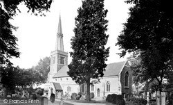 Princes Risborough, St Mary's Parish Church c.1955