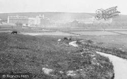 Princetown, Blackbrook River And Dartmoor Prison 1910