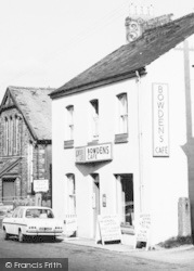 Princetown, Bowdens Cafe c.1960