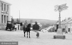 Princetown, Boy Rider And Jubilee Lamp 1910