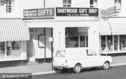 Princetown, Dartmoor Gift Shop c.1965