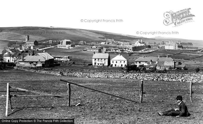 Photo of Princetown, Dartmoor Prison 1890