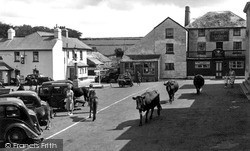 Princetown, Tavistock Road c.1955