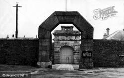 Princetown, The Entrance, Dartmoor Prison c.1965