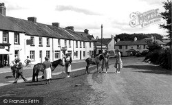 Princetown, The Green c.1955