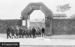 Princetown, The Prison Gate 1898