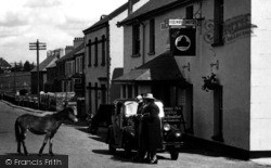 Princetown, The Railway Hotel c.1955