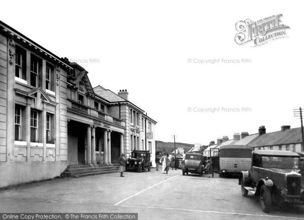Photo of Princetown, Town Centre 1931