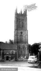 Church Of St Probus And St Grace c.1955, Probus