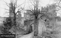 Prudhoe, Castle c.1955