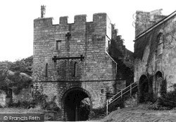 Prudhoe, Castle, The Old Chapel c.1955