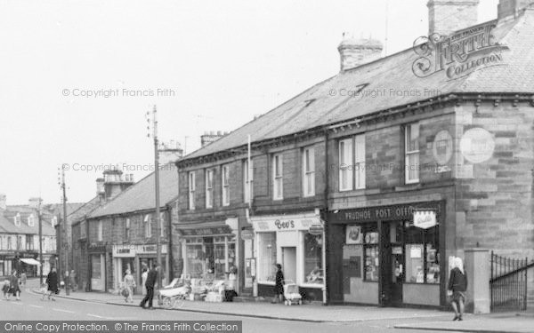 Photo of Prudhoe, Front Street, Post Office c.1955