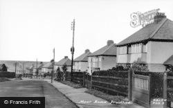 Prudhoe, Moor Road c.1955