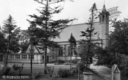 Prudhoe, Our Lady And St Cuthbert's Church c.1955
