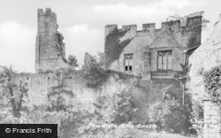 Prudhoe, The Castle c.1955