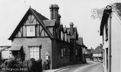 Puckeridge, High Street c.1965