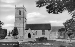 St Thomas A Becket Church c.1955, Pucklechurch