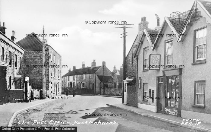 Photo of Pucklechurch, The Post Office c.1960