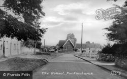 The School c.1955, Pucklechurch