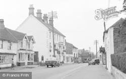 Pulborough, High Street And Arun Hotel 1957