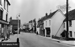Pulborough, High Street c.1955