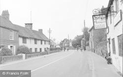 Pulborough, Lower Street 1957