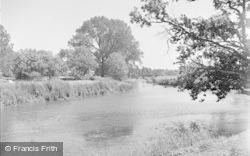 Pulborough, River Arun Above The Bridge 1949