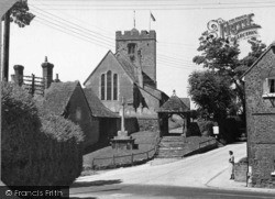 Pulborough, St Mary's Church 1949