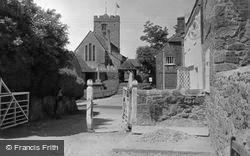 Pulborough, St Mary's Church c.1950