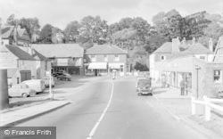 Pulborough, Swan Corner 1957