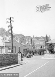 Pulborough, Swan Hotel 1949