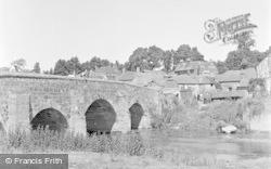 Pulborough, The Bridge And Village 1949