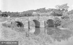 Pulborough, The Old Bridge c.1950