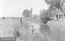 Pulborough, The River Arun 1949