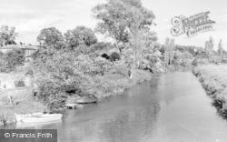 Pulborough, The River Arun 1957
