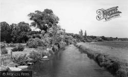 Pulborough, The River Arun 1959
