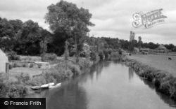 Pulborough, The River Arun c.1950