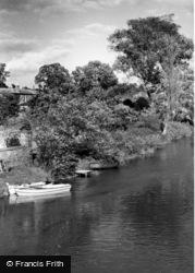 Pulborough, The River Arun c.1955