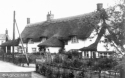 Back Of The Inns c.1960, Pulham Market